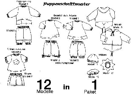 Puppenschnittmuster